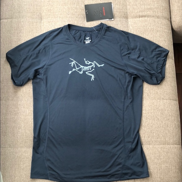 2e9cfdfa04 Arc'teryx Shirts | Arcteryx Phasic Evolution Crew Ss Mens Blue L ...